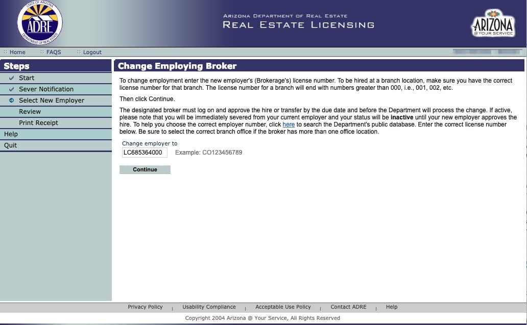 Roosted License Number to Transfer your real estate license to Roosted
